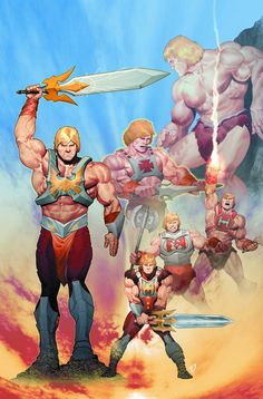 The Origin of She-Ra continues!! As Adora struggles with the sins of her past, she and her brother He-Man must trek to the mysterious island Anwant Gwar. But when a Horde Fright Zone stands in their w