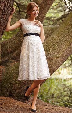 366e0ce646 Daisy Maternity Dress Mono Lace by Tiffany Rose. Celebrity Maternity Style Maternity Bridesmaid DressesMaternity ...