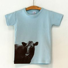 Strand Redesign cow tee