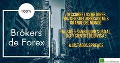 pictografía en la que se pueden leer 100% Forex, el mercado más grande del mundo