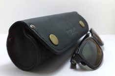Handmade cylinder for sunglasses or reading glass cover by TIZART, $36.00