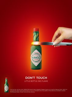 TABASCO print ads on BehanceYou can find Print ads and more on our website.TABASCO print ads on Behance Clever Advertising, Print Advertising, Print Ads, Advertising Campaign, Product Advertising, Product Ads, Ads Creative, Creative Posters, Creative Ideas