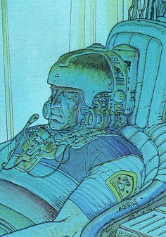 quenched consciousness #comics #illustration #moebius