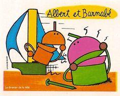 Albert et Barnabé (l'Ile aux Enfants)