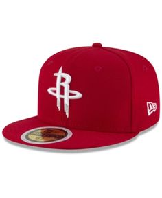 hot sale online 853a8 65f75 New Era Boys  Houston Rockets Basic 59FIFTY Fitted Cap   Reviews - Sports  Fan Shop By Lids - Men - Macy s