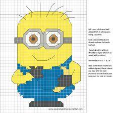 minions cross stitch - Google Search