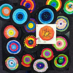 'The Dot' by Peter Reynolds & celebrating our creativity