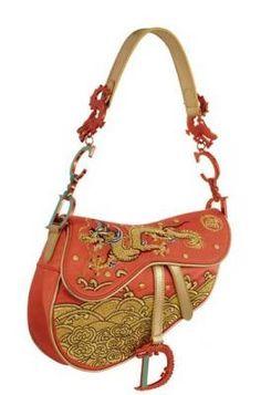 Dior Saddle Bag ' China' Limited Edition
