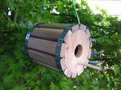 Modern Birdhouse by landongellert on Etsy, $75.00
