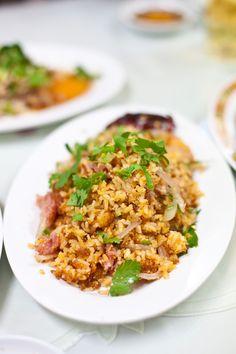 Nam Khao - Crispy Rice Salad