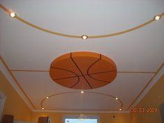 Basketball ceiling. Love it . Design -ideas