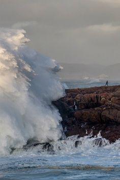 Giant Wave,  La Coruna, Spain photo via mystic