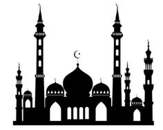 Masjid in Islam - Just as worshipping holds a special rank in Islam so there had to be a place that also holds a special place for worshipping. Eid Crafts, Ramadan Crafts, Mosque Silhouette, Silhouette Vector, Eid Mubarak Wallpaper, Wallpaper Display, Ramadan Activities, Disney Fantasy, Thinking Day
