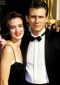 WINONA RYDER AND CHRISTIAN SLATER, ACADEMY AWARDS