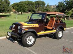 1981 Jeep CJ7 Renegade - 23,092