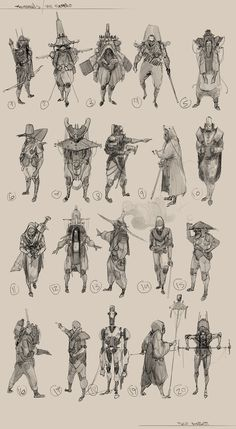 Character Design vol : 3 on Behance