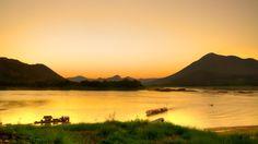 Golden sunset @ Chiang Khan