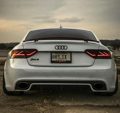 The Audi RS5 back end is looking good