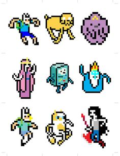8 Bit Adventure Time - Awww look at Bmo! Marceline, Comic Book Characters, Comic Books, Pixel Characters, Adventure Time, Pixel Art, Land Of Ooo, 8 Bit Art, Finn The Human