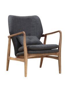 Ceets Bradley Leisure Chair, Charcoal at MYHABIT