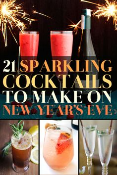 21 Fancy Drinks To Help You Forget 2014
