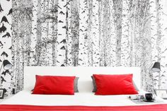 It's all about that red... #bedroom #onedesign #design #room #architecture #interior #red #colours