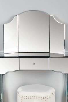 Vanity Mirror with Panels by Statements by J on @HauteLook