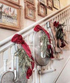 Farmhouse Christmas Decorating Ideas (20)