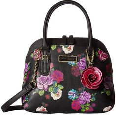 For many women, purchasing an authentic designer bag is not something to rush into. As these handbags can certainly be so high priced, most women typically agonize over their selections before making an actual handbag acquisition. Betsy Johnson Purses, Betsey Johnson Handbags, Cute Handbags, Purses And Handbags, Gucci Purses, Versace, Purse Styles, Cute Purses, Fashion Bags