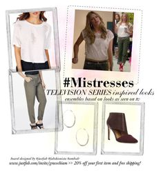 Sharing #RizzoliAndIsles #TVSeries Inspired Outfit Using www.JustFab.com Options   Board designed by JustFab #Ambsdr #Fabshionista www.gracehesterdesigns.com