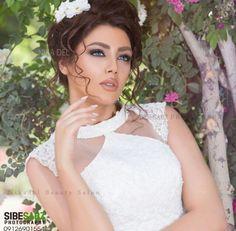 Persian Wedding, Wedding Make Up, Hoop Earrings, Weddings, Makeup, How To Make, Fashion, Make Up, Moda