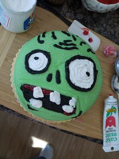 zombie birthday cake#Repin By:Pinterest++ for iPad#