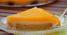 Εύκολο γλυκό ψυγείου με κρέμα & πορτοκαλάδα