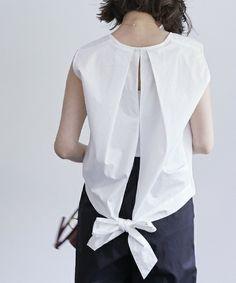【ZOZOTOWN】STUDIOUS(ステュディオス)のシャツ/ブラウス「【STUDIOUS】バックリボンノースリーブBL」(207103004)をセール価格で購入できます。