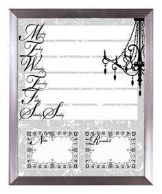 Take a look at this Lace Chandelier Memo Board by PTM Images on #zulily today! $29.99, usually 80.00