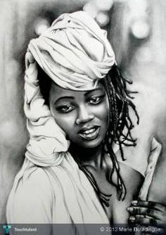 black woman #Creative #Art #Sketching @touchtalent.com.com.com.com.com.com.com