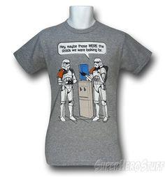 Storm Trooper water cooler talk