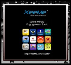 The best tool to organize, grow and monitor your social presence, your most important social media asset.  http://Xeeme.com #XeeMe