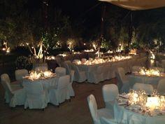 "Private dinner's ready ! Our restaurant Salammbo & terrasse in ""tenue de soirée"""