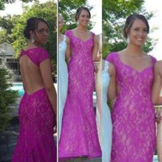 Hot pink Sherri Hill! #promagain #prom #resale #consignment #cheap #dresses #formal