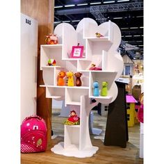icu ~ Open freestanding kids bookcase LOUANE ARBRES Collection by Mathy by Bols Childrens Bookcase, Kids Bookcase, Kids Furniture, Furniture Design, Bookshelves In Bedroom, False Ceiling Living Room, False Ceiling Design, Kids Room Design, Bedroom Colors
