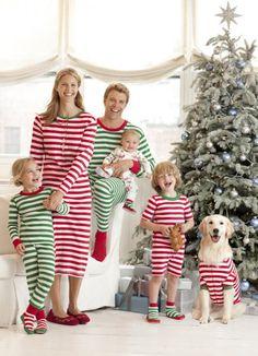 Matching PJ's for Christmas Eve