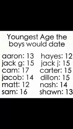 YAY!! Hayes and Matthew would date me Yassss