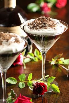 chocolate bourbon dessert
