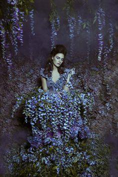 "Wisteria:  ""The Secret Garden: #Wisteria Princess,"" by Daniela Majic."