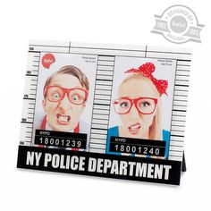 Photo frame NYPD 2x 10x15 acrylic - Balvi