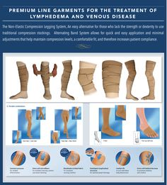 Premium Line Garments for the Treatment of Lymphedema and Venous Disease. www.wealcan.co