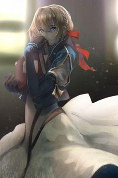 Violet Evergarden (Character) (1417x2126 1,199 kB.)