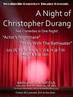 A Night of Christopher Durang