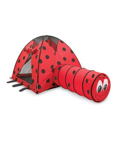 Pacific Play Tents Ladybug Nylon Play Tent and Tunnel Combo - 20420  sc 1 st  Pinterest & Pacific Play Tents 50-Inch by 40-Inch by 50-Inch Cottage Play ...
